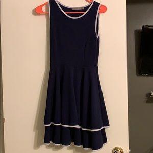 Finn & Clover navy blue dress